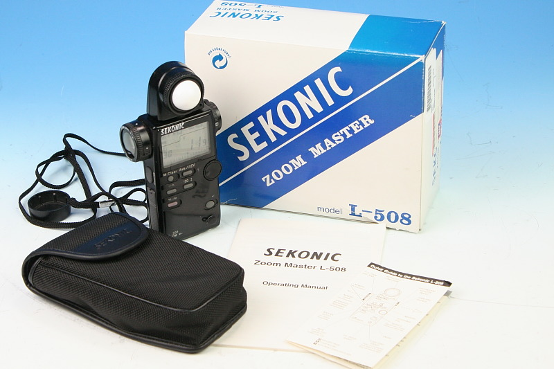 Sekonic L-558R Dualmaster | Photo.net Photography Forums