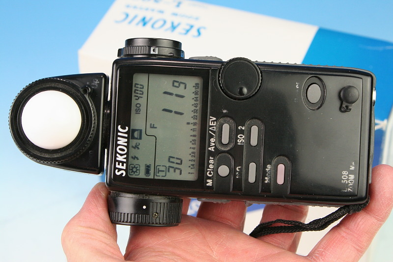 Sekonic L 558 DualMaster Light Meters user reviews : 3.4 ...