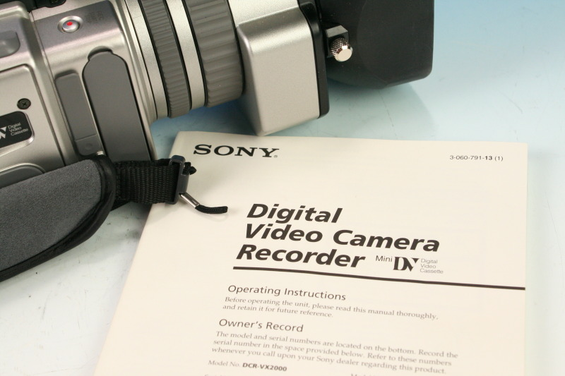sony handycam instruction manual